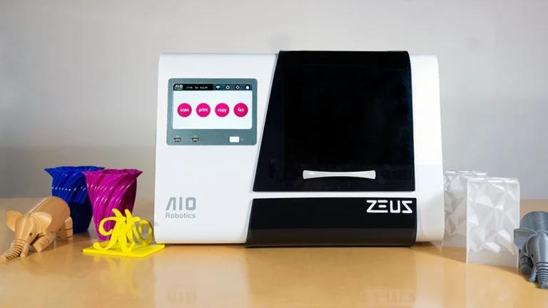 The AIO Robotics Zeus 3d printer