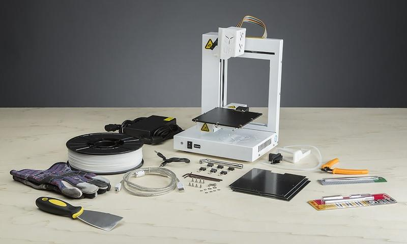 What's in the box Tiertime UP Plus 2 3D Printer