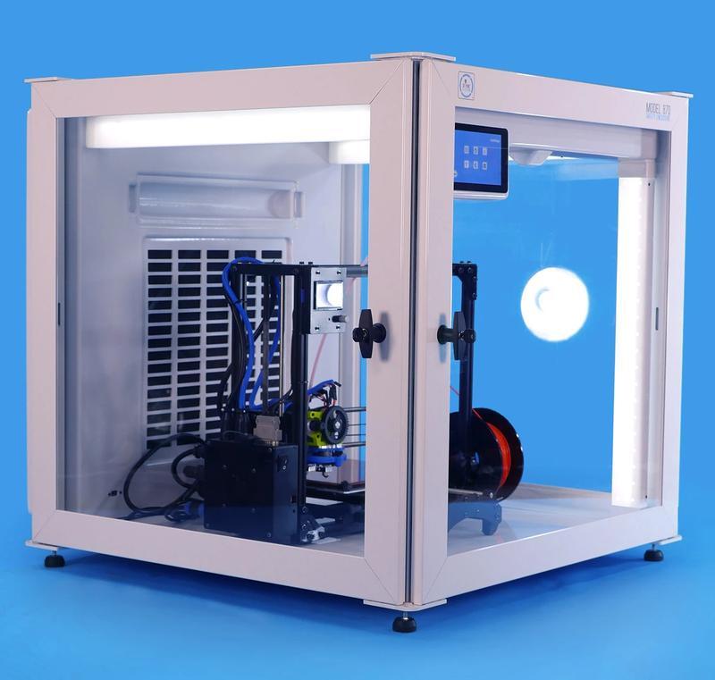 enclosed print chamber