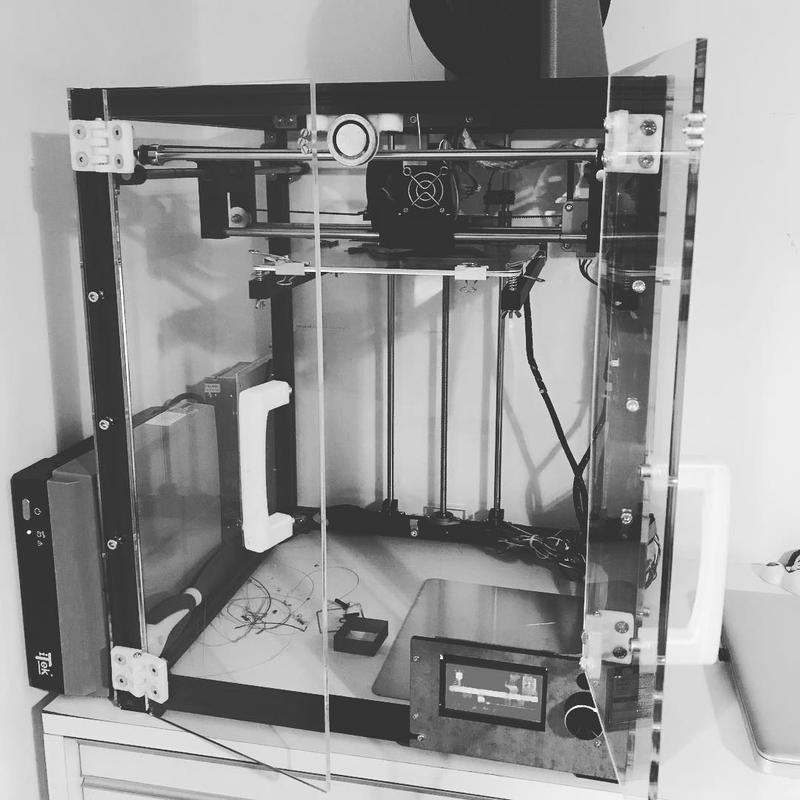 enclosed print chamber for tronxy x5 3d printer