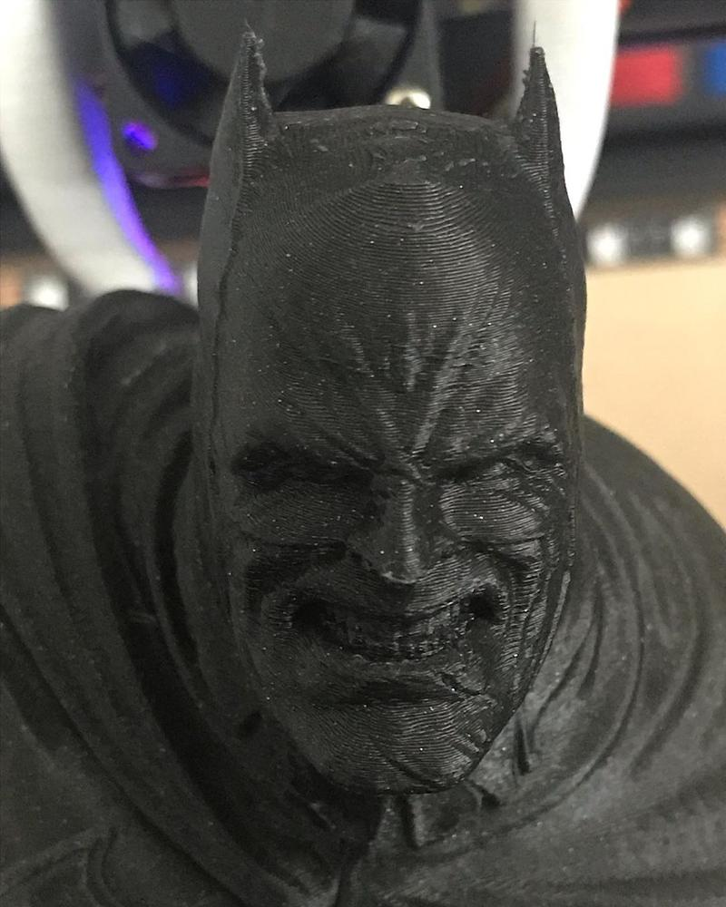 batman printed on 3d printer tronxy x5s 2e