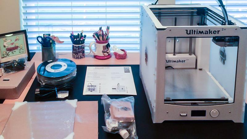 kit 3d printer ultimaker 2+
