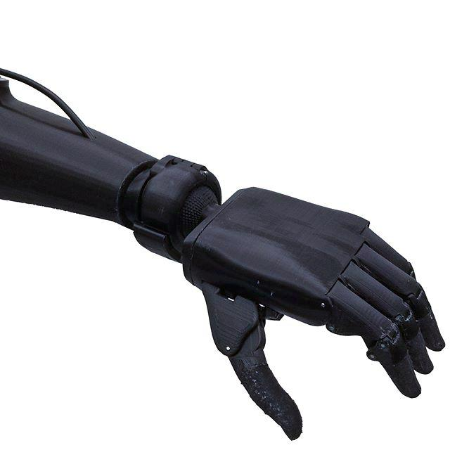 3d model arm printed ultimaker 2 extended
