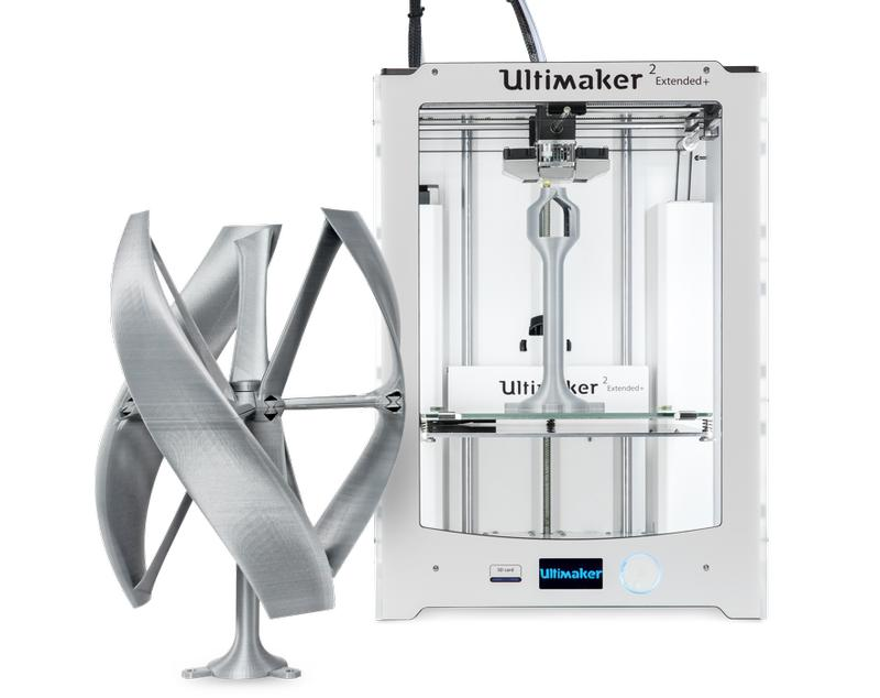 3d model with 3d printer ultimaker 2 extended