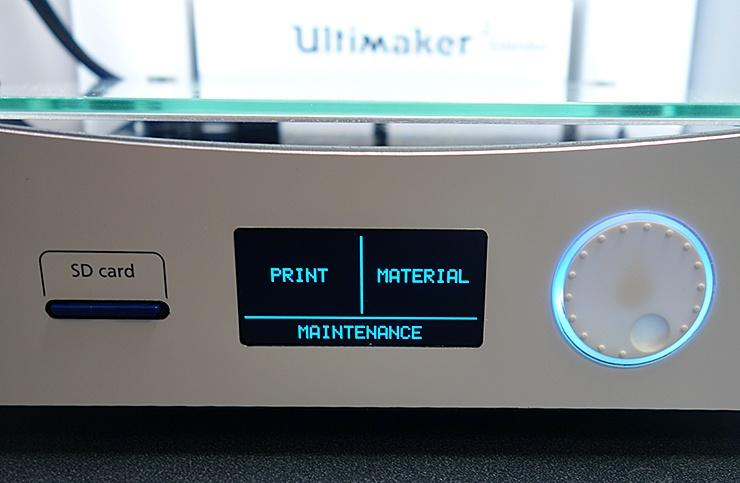 lcd display 3d printer ultimaker 2 extended