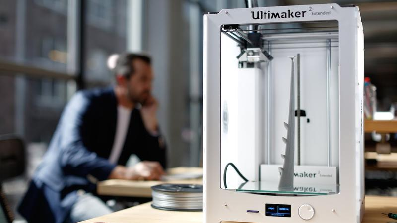 3d printer ultimaker 2 extended