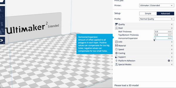 viewport software ultimaker 2 extended