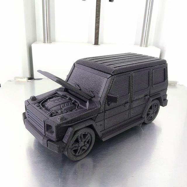 3d model mercedes galenvagen