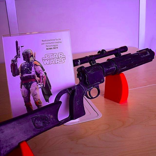 3d printed model blaster star wars