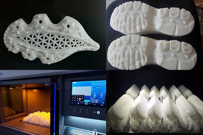 examples of products printed on the uniontech fm 450 3D printer