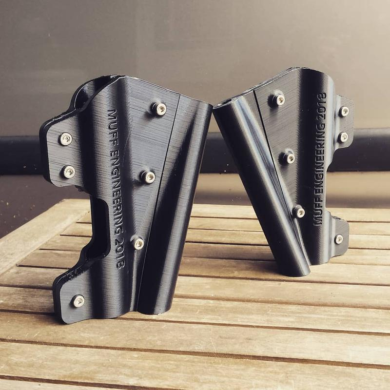 These self-made office table mounts have been created for a girl in a wheelchair. Their strong quality and accuracy make them perfect.