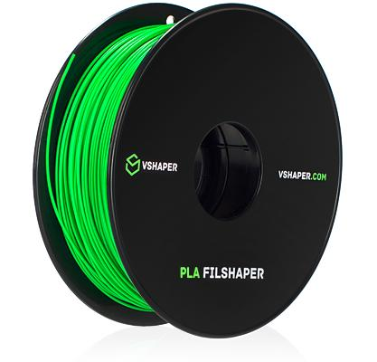 The Vshaper 500 prints with 1.75 mm filament, providing you with a wide choice of materials.