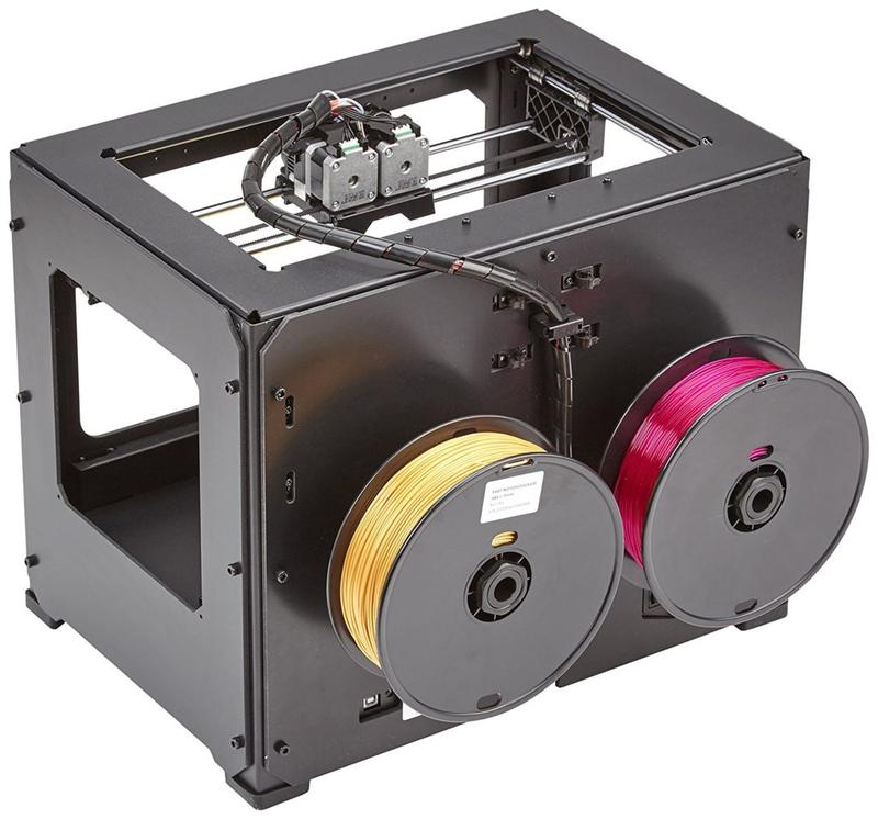 The Wanhao Duplicator 4S has an open material system, which lets you print with all types of 1.75 mm filament. In this way, it grants maximum design flexibility.