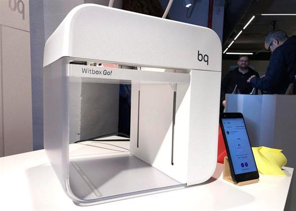 BQ Witbox Go! 3D printer