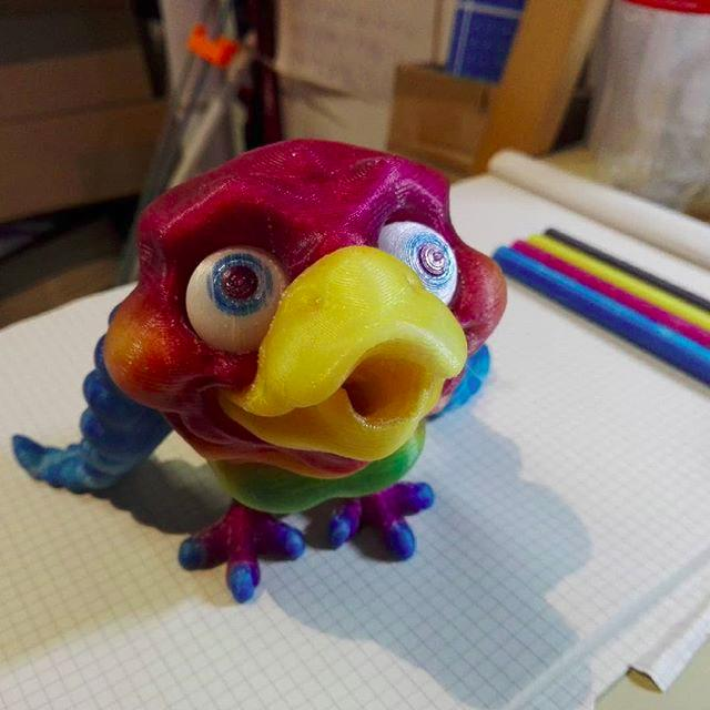 Look at Henry, the pencil sharpening bird. It looks nice and accurate.