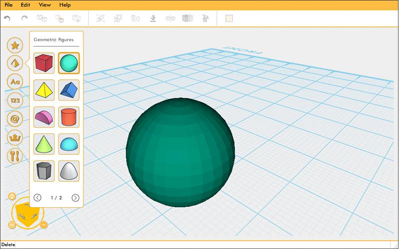 The dedicated XYZmaker software allows preparing the printing files with ease. It supports a variety of 3D model formats ensuring wide compatibility.