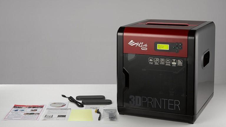 What's in the da vinci 1.0 pro 3d printer box
