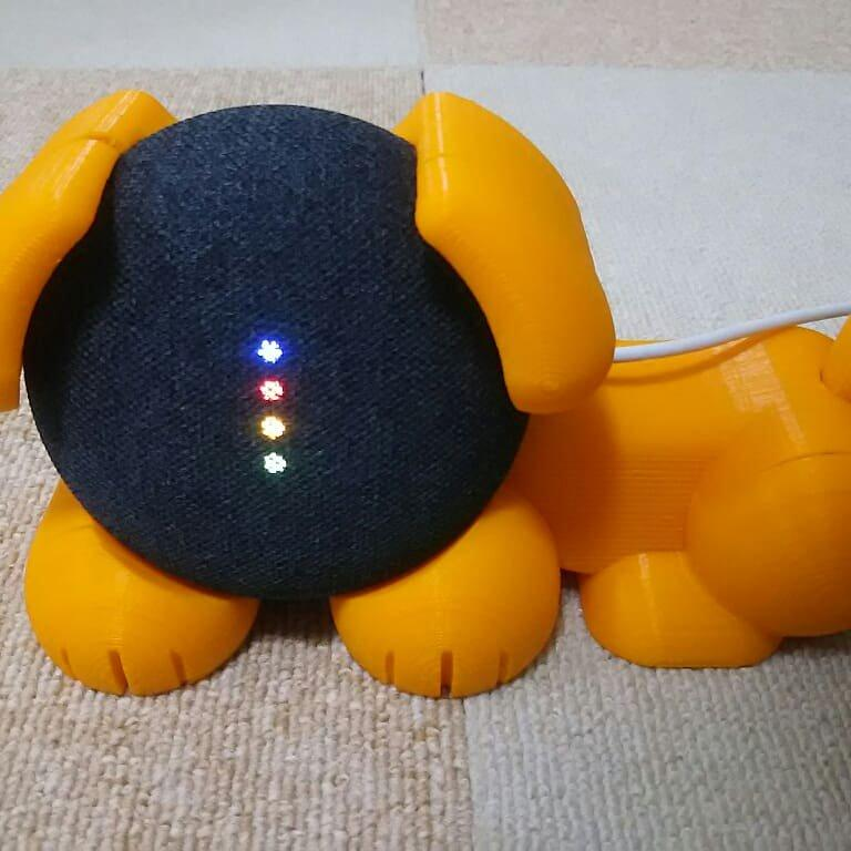 One maker used it to create a custom, dog-shaped case for his Google Home Mini.