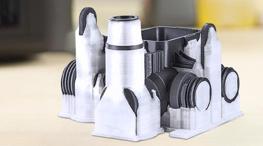 You will have plenty of filament choices for the highest design flexibility.