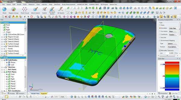 Complete Capture 3D scanner includes the proprietary, integrated Geomagic software