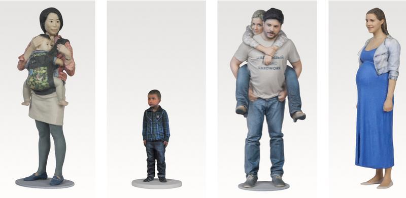 3d models of human