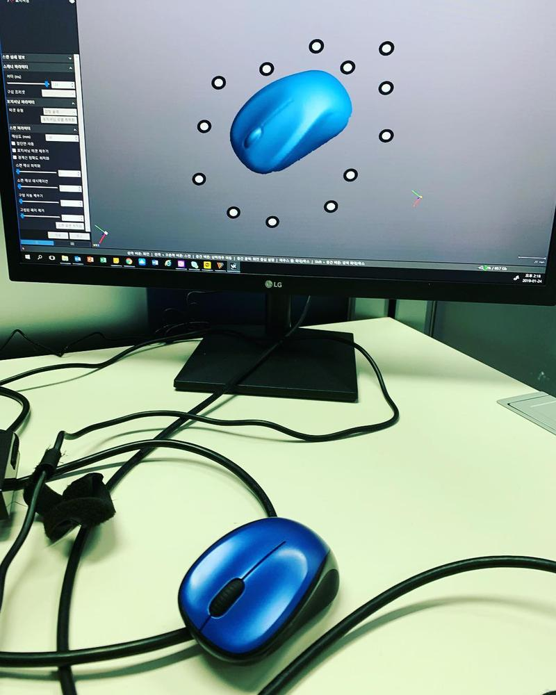 3d scan of computer mouse