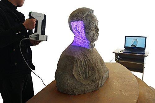 Shining 3D EinScan-Pro 3D Scanner scanning process