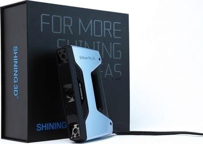 EinScan Pro 2X 3D scanner with box