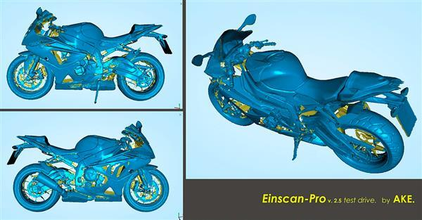 EinScan HD Prime Pack is a useful upgrade that enables makers-free scanning of object surfaces with enough geometries.