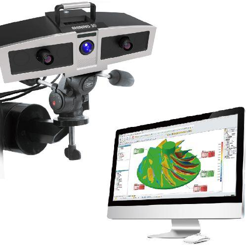 the optimscan-5m and the monitor