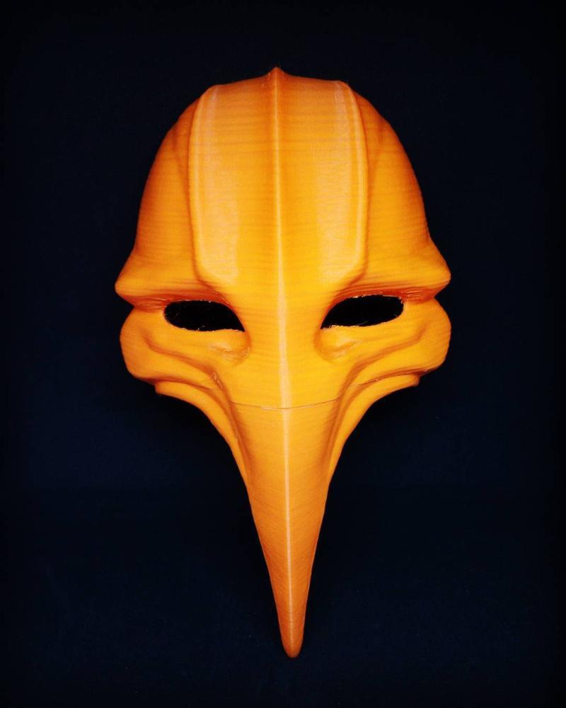 a plague mask