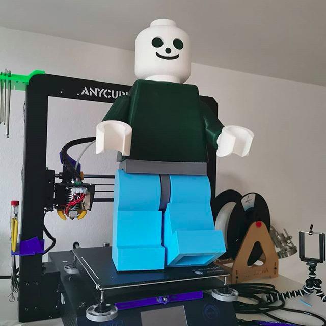 a big Lego model