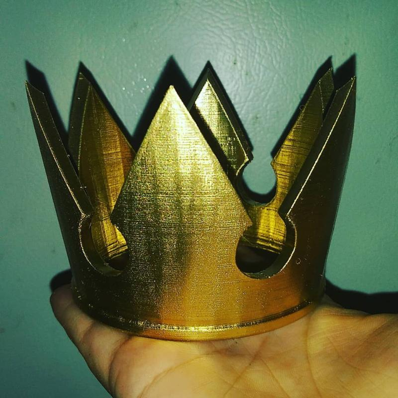 Sora crown from Kingdom Hearts
