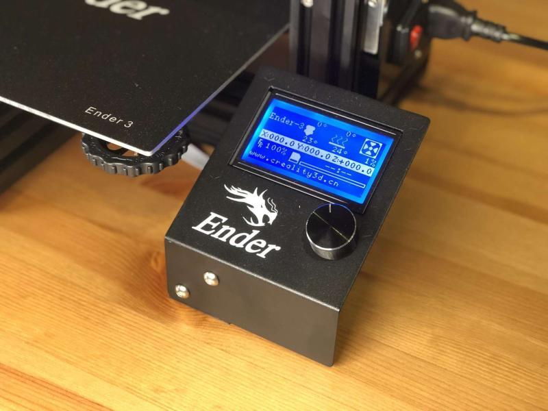 3d printer controls