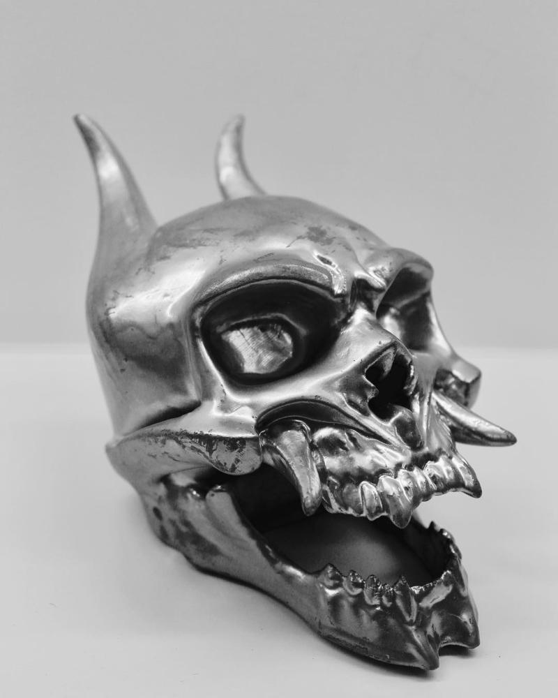 shape of 3D printed skull