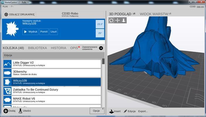 3D models on computer