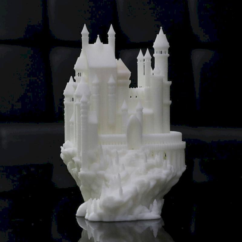 رزین استاندارد پرینتر سه بعدی سفید