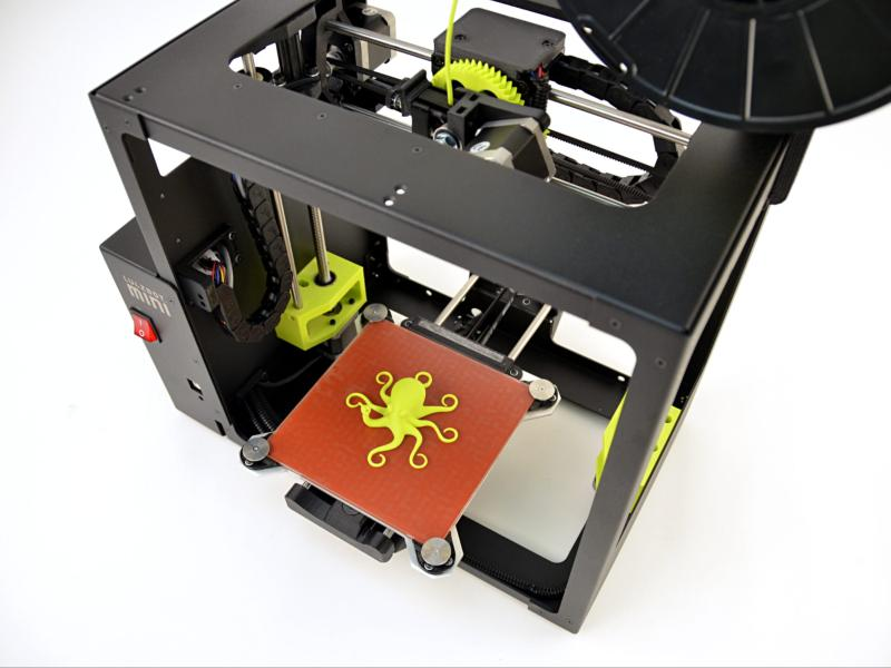 A model which was printed with a ABS plastic.