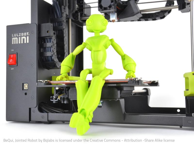 Detailed figure 3D printer
