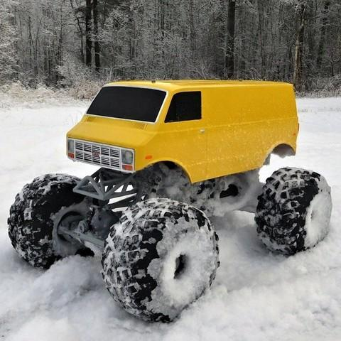 A monster truck