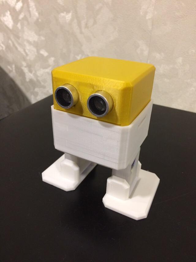 The robot that dances