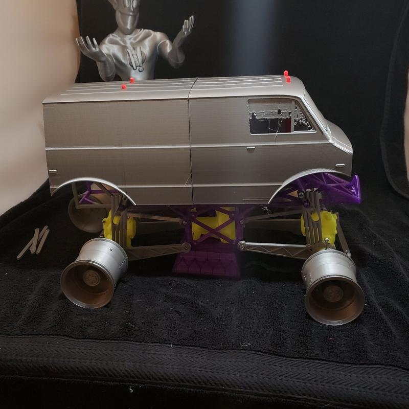 A monster truck model