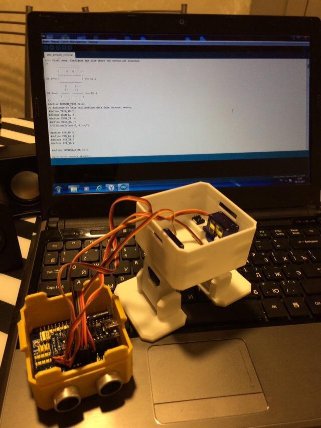 A robot parsing