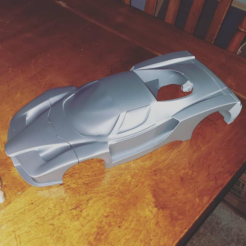 A model Ferrari Enzo