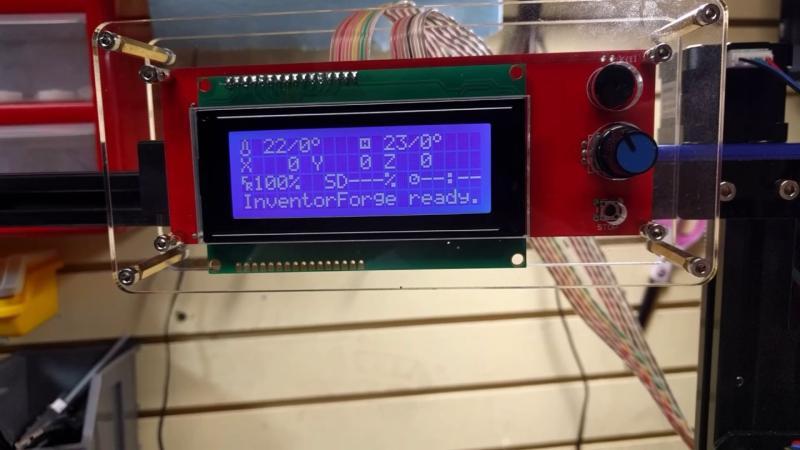 A convenient LCD interface.