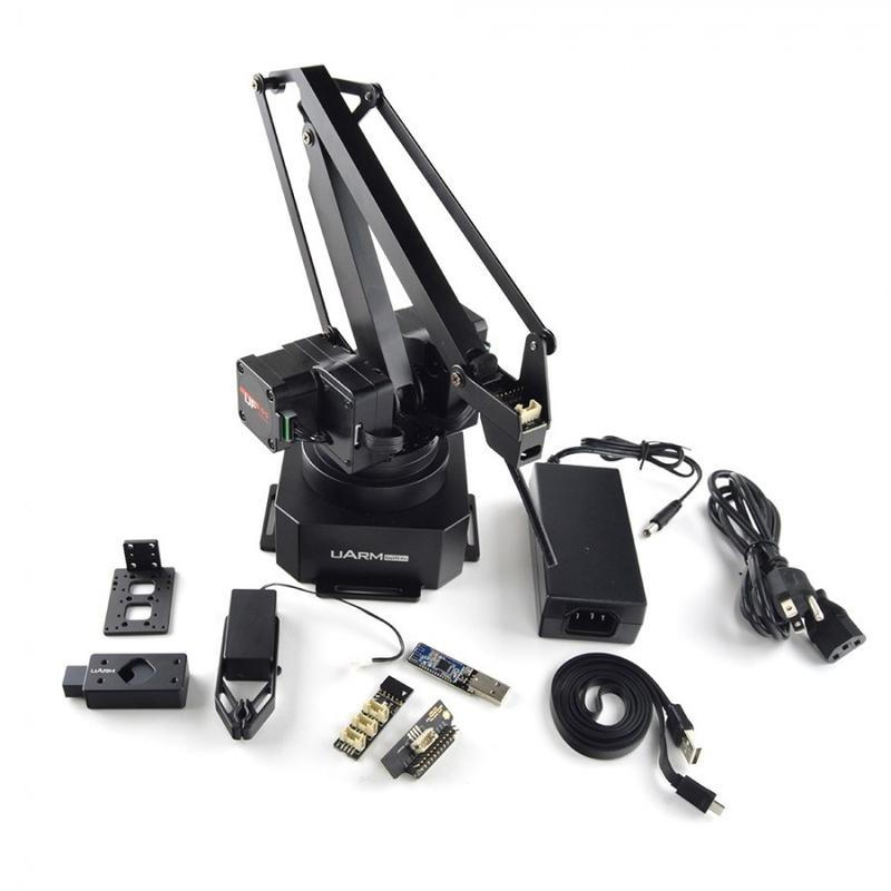 what's in the UFACTORY uArm Swift Pro robotic arm box